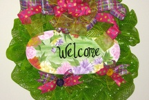 Wreath Inspirations / by Donna Stees