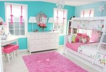 Little Girls Room / Decorating a little girls room / by Donna Stees