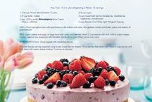 Recipes / by Lisa Wikstrom