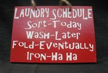 Laundry room / by Lisa Wikstrom