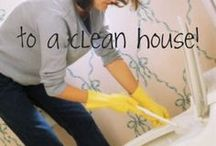 Cleaning tips / by Lisa Wikstrom