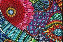 INSPIRE ZENTANGLE / by Esther Sanchez Mateu