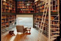 Bookrooms / #bookrooms a better name for home #libraries  / by Wendy Brooks |  @MissionsRN
