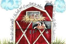 Our lil farm / dream someday of owning a little hobby farm / by Denise Houge