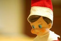 holiday - elf on the shelf / the ever adorable and equally creepy visitors from the North / by Andi Gould