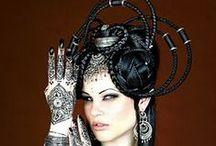 [Costumes de danse] Coiffes tribalisantes, impressionnantes ! / by Sonja Larouge