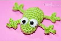 Amigurumi Cuties! / Amigurumi are little (or big!) crocheted stuffed animals... I <3 them! / by Pepper Hayes