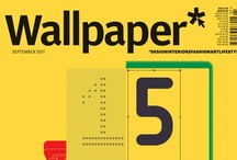 Wallpaper* magazine covers / by Gordon Knight