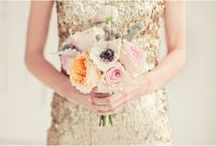 Bouquets / Because what's a wedding without the bouquet. .. / by Megan {Lower East Dry Goods}