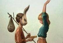 Rabbit ears / Usagi no mimi / by Gordon Knight