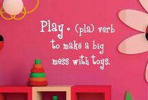 Playroom / by Kaitlyn Huffman