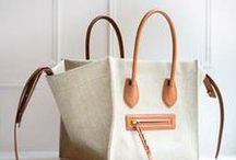 bags / A beautiful bag makes such a statement. the shape, structure, simplicity, quality- aaaahh, love bags! / by Crystalin