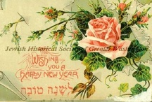 Vintage Penny Postcards / Many of these postcards were donated by Flora Atkin, an Honorary Director of the Jewish Historical Society.  Her grandparents, Rachel and Herman Blumenthal, lived in the heart of the downtown Jewish community.  Rachel kept albums of penny postcards that she received for holidays from family and friends.  / by Jewish Historical Society of Greater Washington (JHSGW)