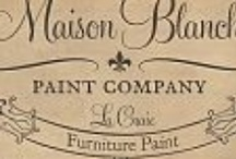 Maison Blanche Paint Company / http://livingonthebliss.com/ / by Cindy Miller