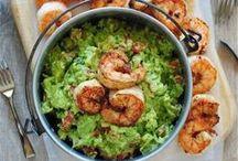 summer menu / salad and seafood / by Belinda Chatsuwan