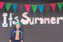summer / by Cassie Bustamante (Primitive & Proper)