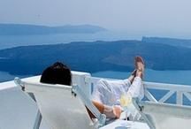 getaway in greece / by Belinda Chatsuwan