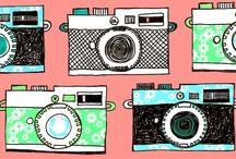Cameras and photos illustrations / by Sara Piersanti
