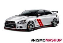 NISMO Mashup / It's MASHUP time! We took some of our fans' favorite NISMO models and mashed them up with a few of our 2014 Nissan vehicles. The end result is awesome! *All illustrations, designs and specifications are based on concept vehicles envisioned by fans. The vehicles do not exist. / by Nissan