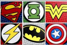 Superhero Room / by Stacey