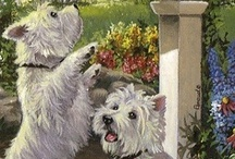 Art: Dogs / by Sylvia Pendley