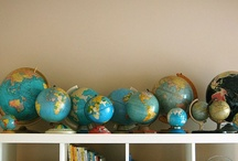 Maps and Globes / by Shelly McClanahan
