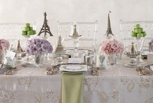 "Paris Patisserie / Sweep mom and baby shower guests away for a magical day in the City of Lights with everything that seems to say ""bonjour."" / by HUGGIES Baby Shower Planner"