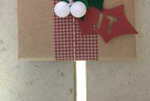 DIY gift wrapping  / by Dana McCreery