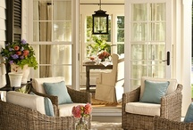 marlaine ♥ front porches / great ideas for the front of the house / by little miss bliss