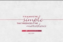marlaine ♥ freelancing / design quotes and thoughts / by little miss bliss