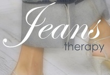 Jeans & Denim Therapy - Tall Girl Fashion / #Tall #Plus-Size #Denim #Jeans / by The Concierge Therapist ®