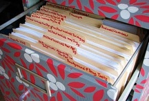 Organized / Yes, I love to be organized!  / by Tori Martinez