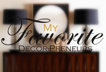 My Favorite Bloggers, Speakers, Pinners & DecorPreneurs / Dedicated  To  My    F A V O R I T E S ************************************************************************************************************************************************************** Design Tips/Tricks *** DecorPreneurs **** Mom Bloggers *** Dads Who Blog **** Professional Caregivers **** Home-based Caregivers For Their Loved-one / by The Concierge Therapist ®