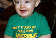 Epic Kid's Shirts! / A collection of some of the many awesome T-shirts my boys have worn over the years :P  / by Lora E