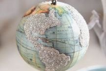 Maps and Globes / by Ruth Goodpaster