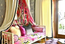 Stylish Spaces / I am naturally drawn to colorful spaces with whimsical details and elements of drama. / by Handbag Report
