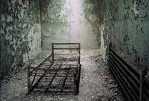 """Beautifully Abandoned~Occasionally Creepy  / """"No day shall erase you from the memory of time"""" ― Virgil / by Patty Najafabadi"""