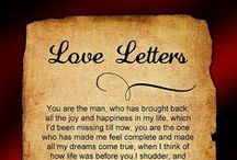 Love Letters / by Pat Thomas ~ My Vintage Dream