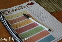 Organized: Menu & Shopping List / by Michelle Braun