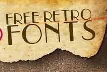 Design ~ free fonts / by Maranda - Maraby Designs