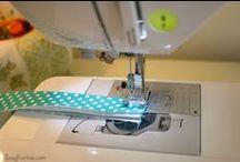 Sewing / by Schabuzzi  / Leah Kirchmann
