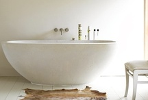 bathrooms to relax in / by danielle de lange