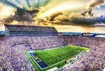 College Football Stadiums / The Stadiums Collection: Our best photos of college football stadiums.  Purchase as an framed print, custom framed or on canvas.   / by Replay Photos