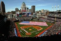 Ballparks of MLB / Take Me Out to the Ball Game! The best photos of your favorite MLB Stadiums. / by Replay Photos