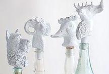 booze bottle stoppers / by Beth Barrington