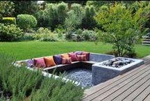 patio and garden / by Beth Barrington