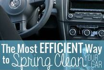 Who Likes to Clean? / If it has to be done, at least it can be better! Tips & ideas to make cleaning & organizing easier.  / by Heather Blackmon (FITaspire.com)