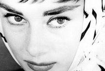 Audrey Hepburn  / by The Bluebird Patch