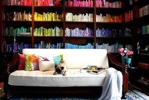 bookcases / by Beth Barrington