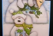 christmas cards / by Rebecca Larlee